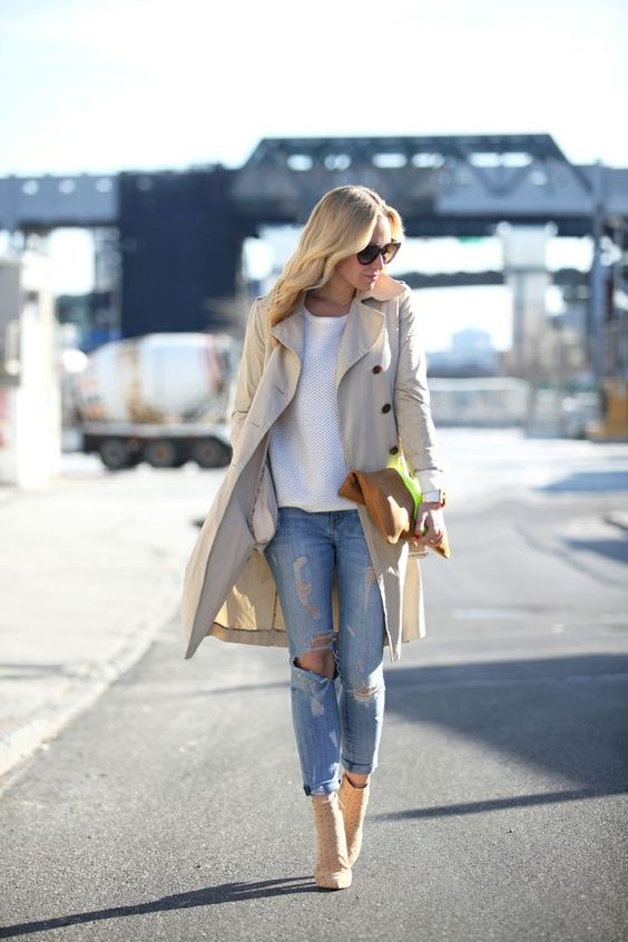 beige nude boots style