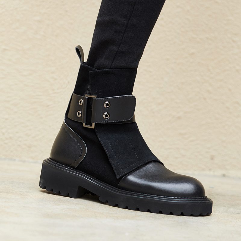 Chiko Earl Wrap Up Ankle Boots