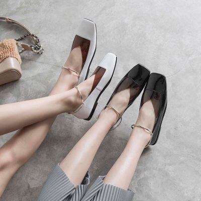 Chiko Edmanda Anklet PVC Flats