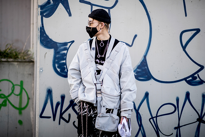 Milan street style men fall 2019