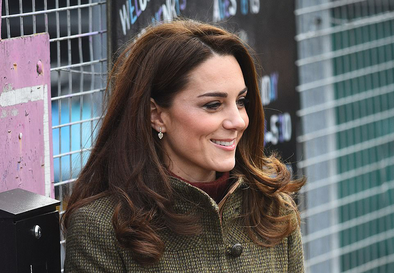 Kate Middleton combat boots style