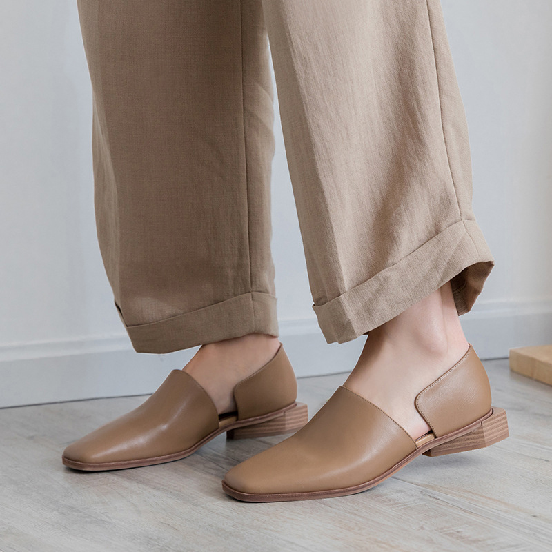ELLICE CUT OUT LOAFERS