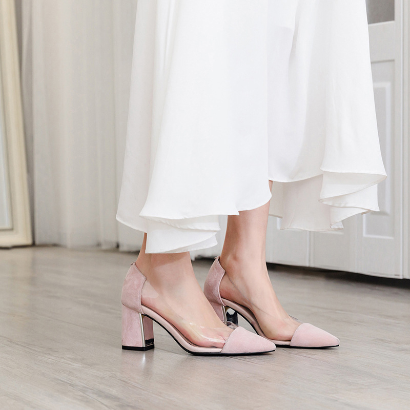 EMILEY PVC PUMPS