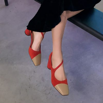 Chiko Emma Asymmetric Mary Jane Pumps