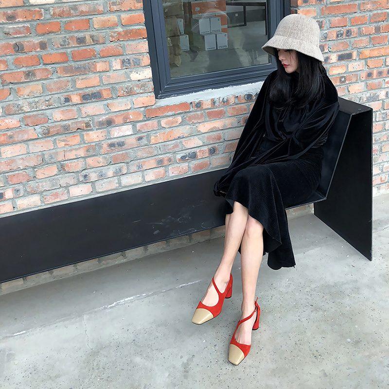 Chiko Emma Asymmetric Mary Jane Pumps