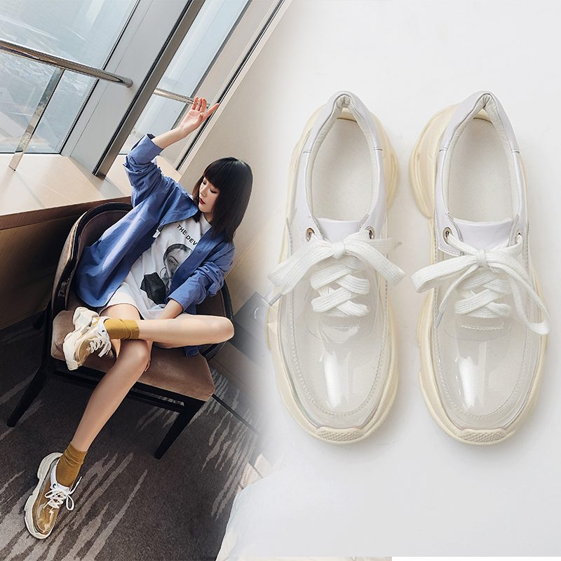 Chiko Ever PVC Chunky Sneakers