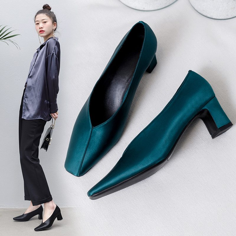 Chiko Fairlee Square Toe Glove Shoe Pumps