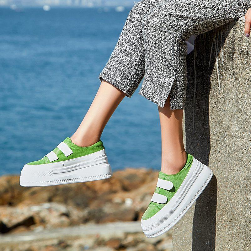 Chiko Farley Strap Flatform Sneakers