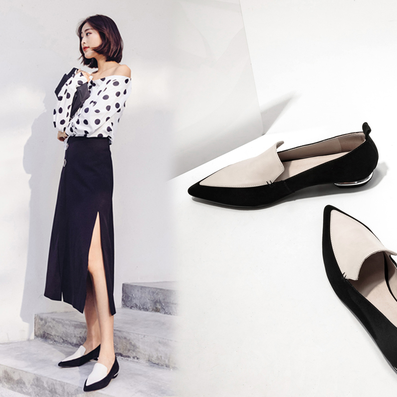 ESMOND TWO TONE LOAFERS
