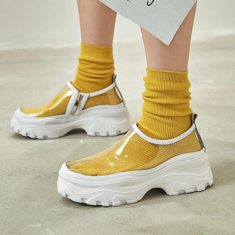Chiko Etellburga PVC Chunky Sneakers