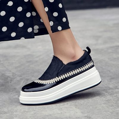 Chiko Elmer Platform Slip On Loafers
