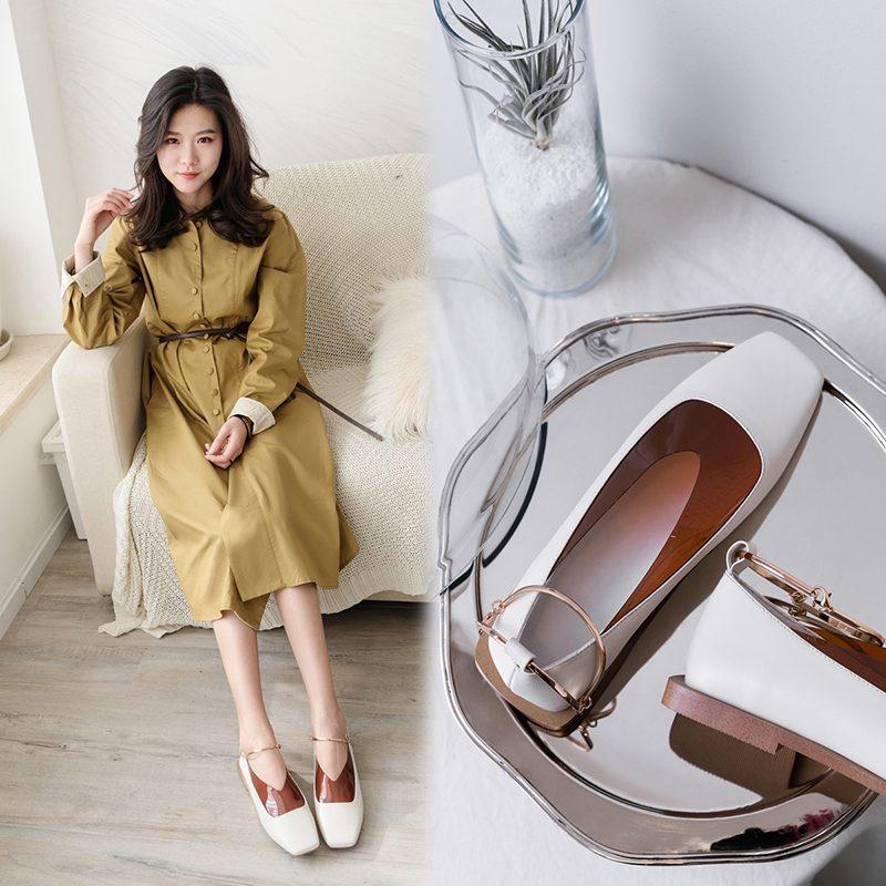 Chiko Elvia Anklet PVC Flats