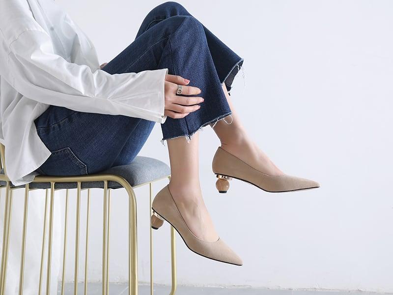 sculptural heels trend spring