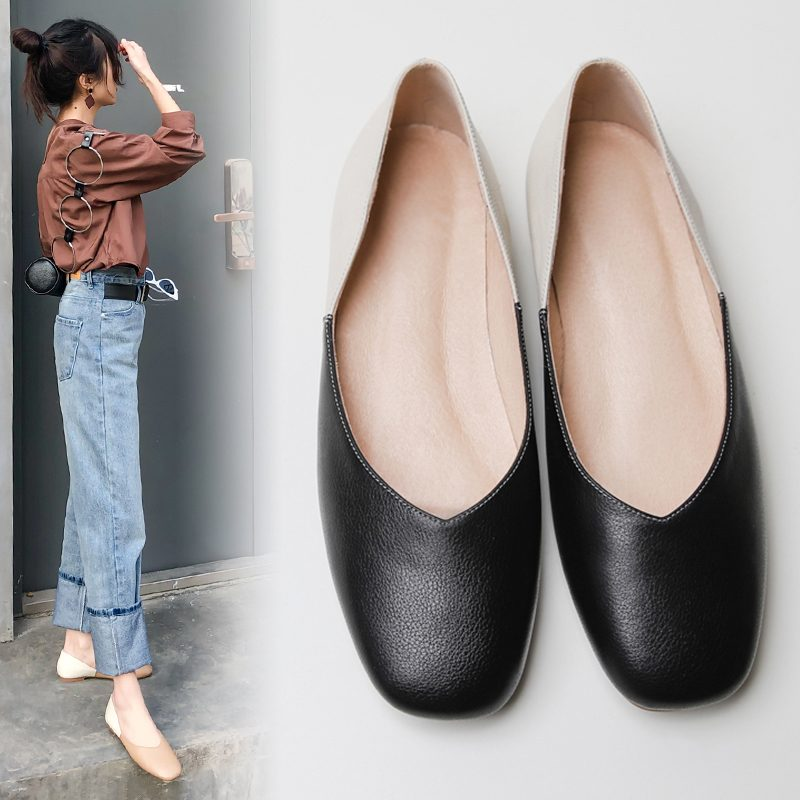 Chiko Flint Two Tone Loafer Flats