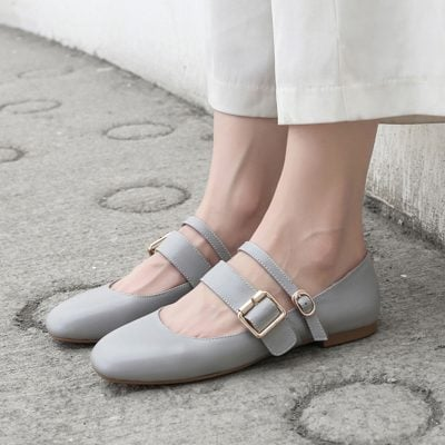 Chiko Faron Double Strap Mary-Jane Pumps