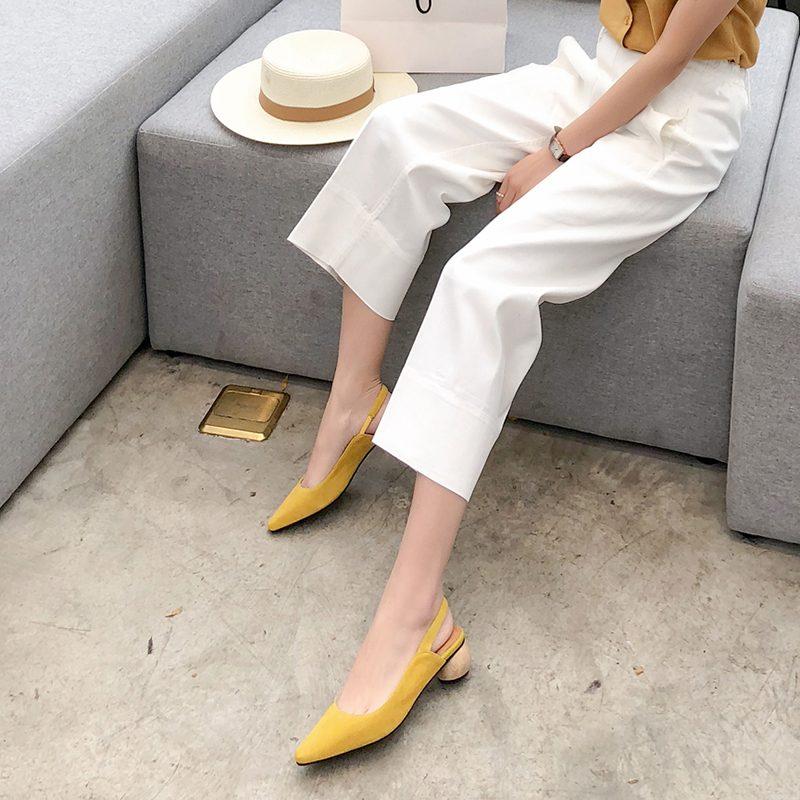 Chiko Farrah Slingback Sculptural Heel Pumps