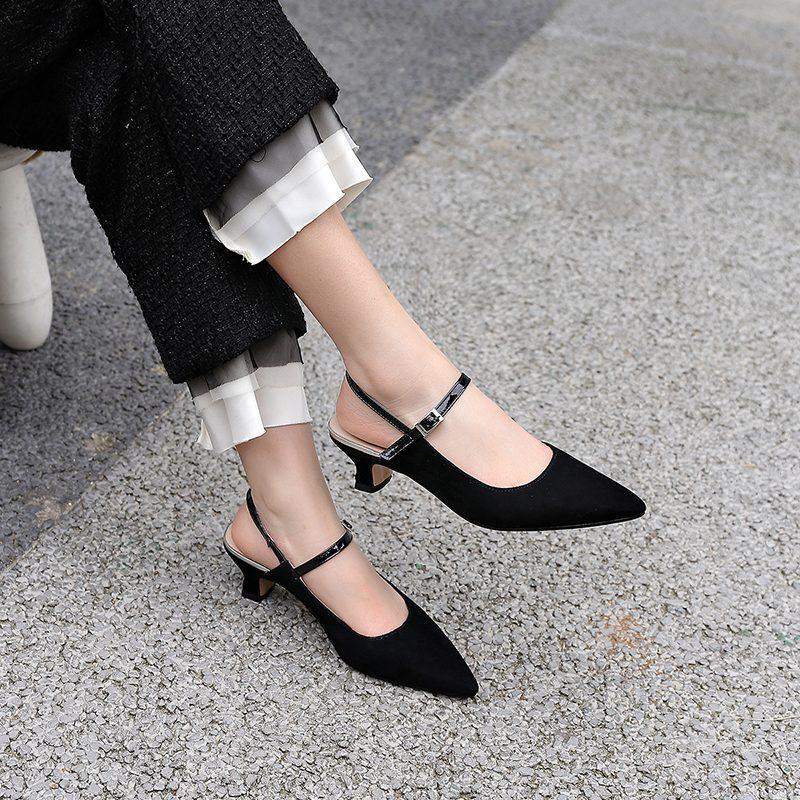 Chiko Fitxpatrick Kitten Heel Slingback Pumps
