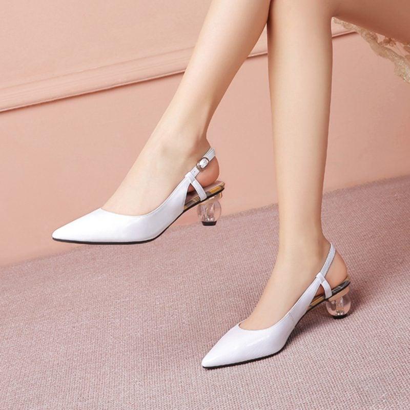 Chiko Gilda Pointed Toe Kitten Heels Pumps