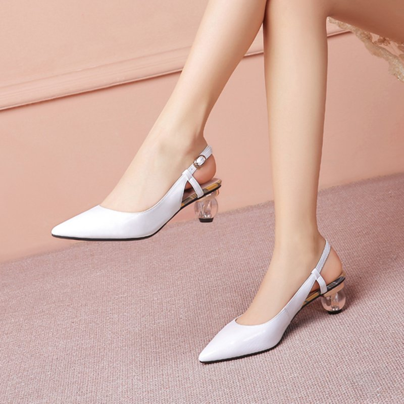 GILDA POINTED TOE KITTEN HEELS PUMPS