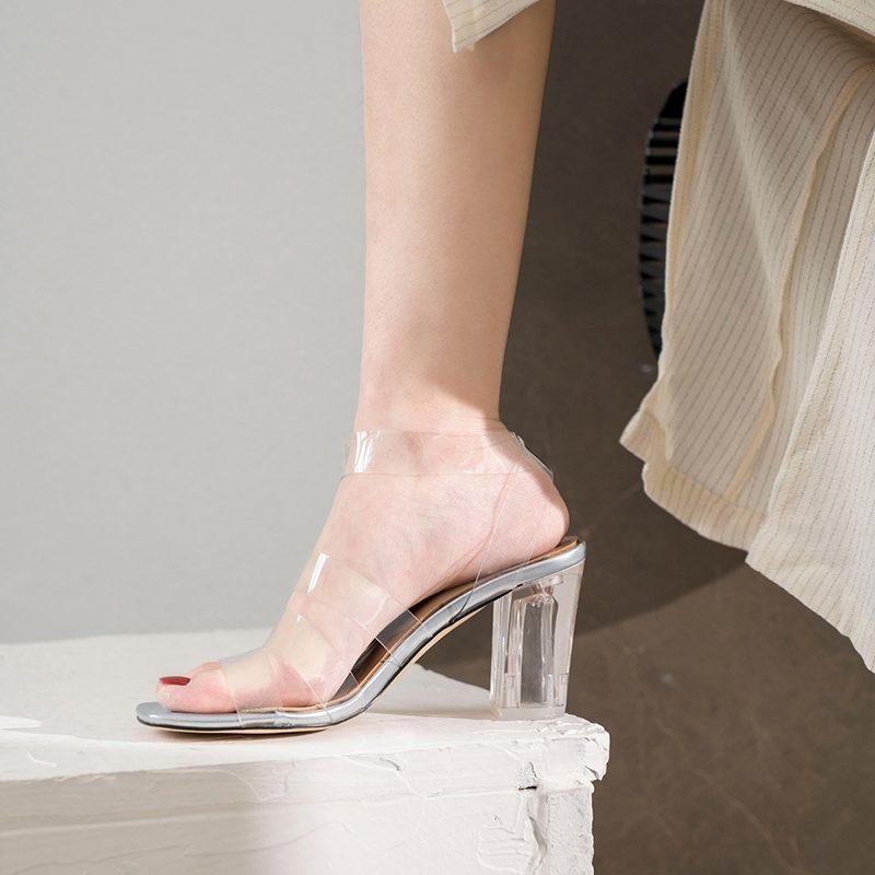Chiko Godgifu Open Toe Chunky Heels Sandals