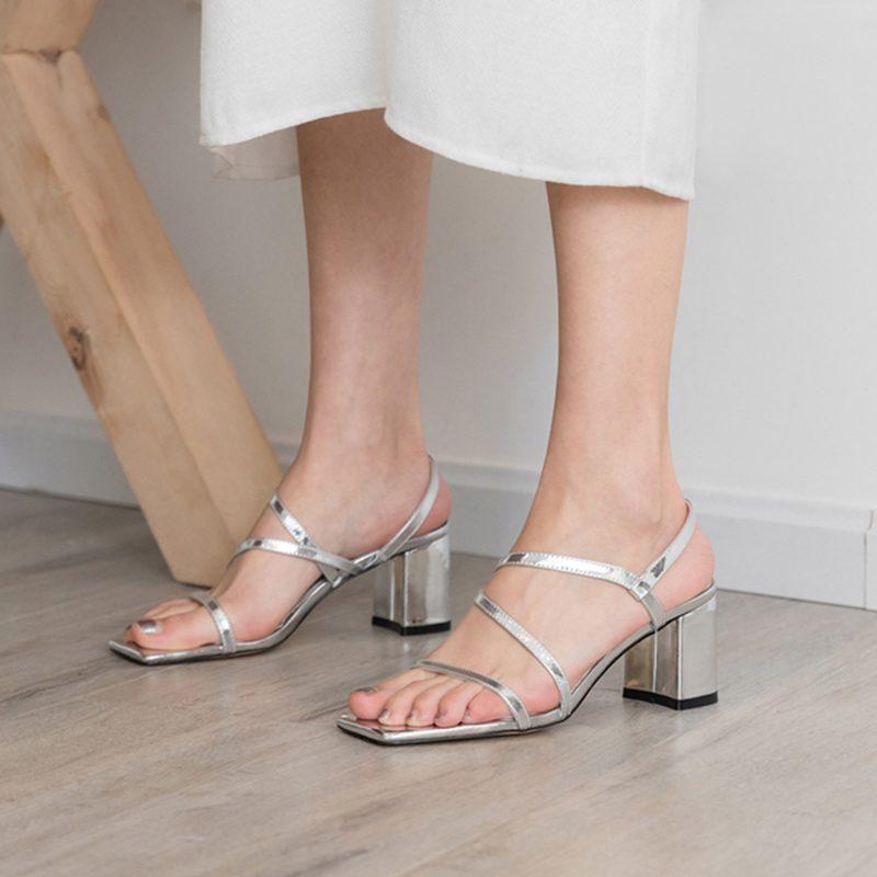 Chiko Golda Open Toe Block Heels Sandals