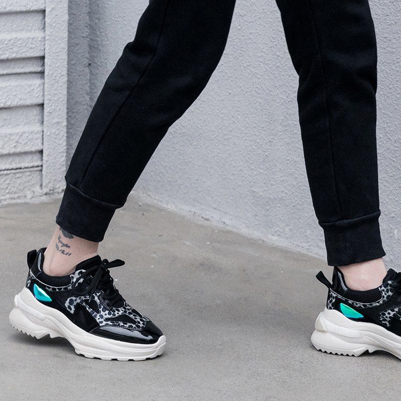 Chiko Harlie Round Toe Flatforms Sneakers