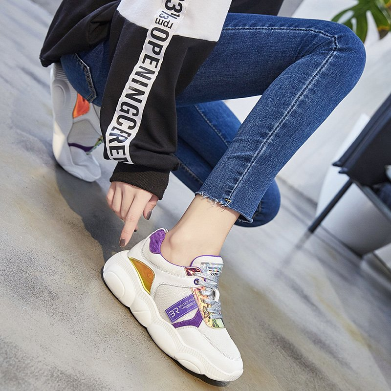 HAYLEA ROUND TOE FLATFORMS SNEAKERS