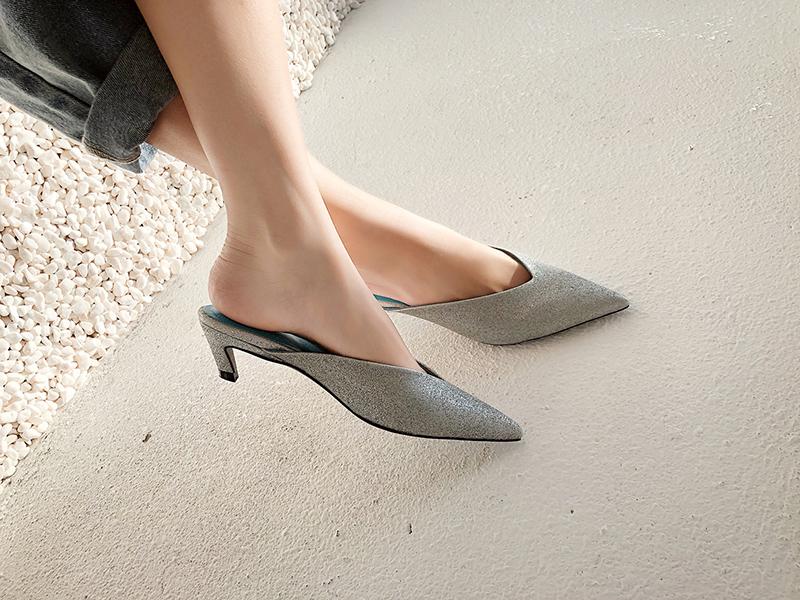 Best mules mary-jane kitten heels shoes