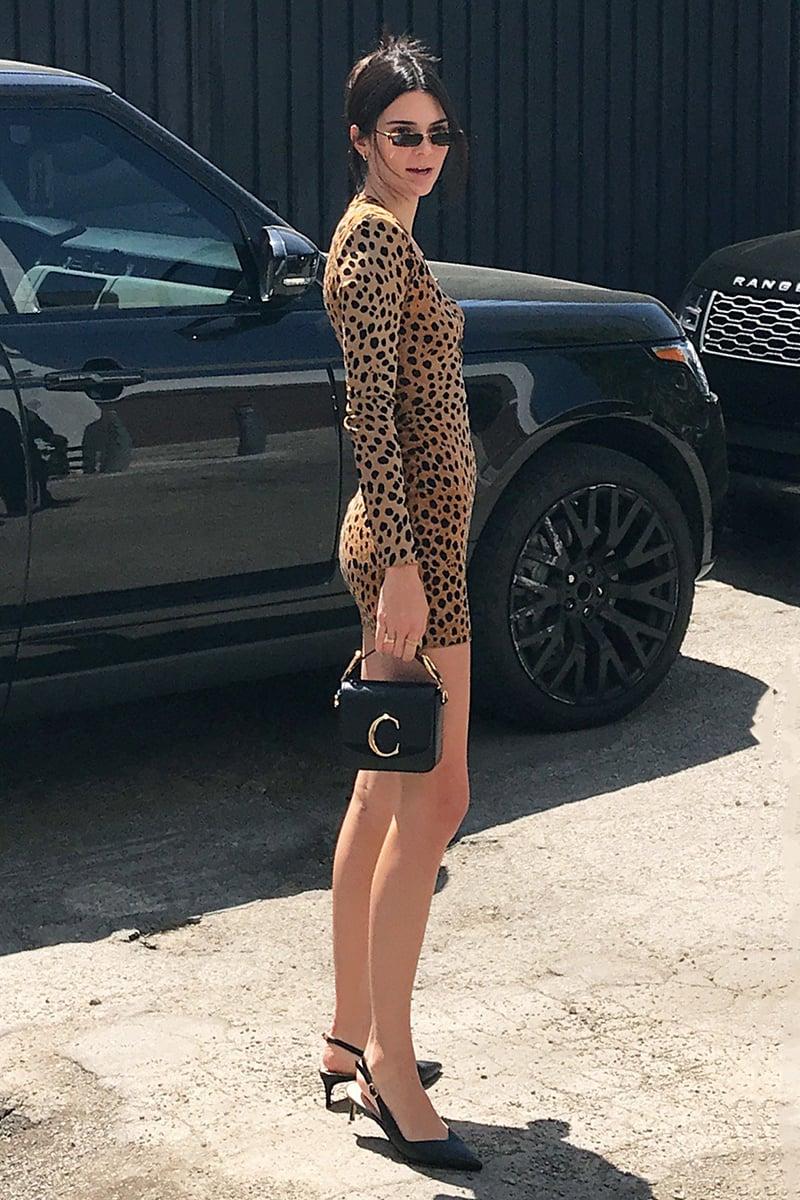 Kendall-Jenner-Sling-back-pumps-style