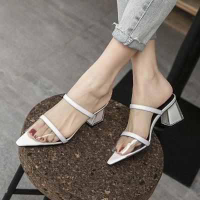 Chiko Kandahl Open Toe Block Heels Sandals