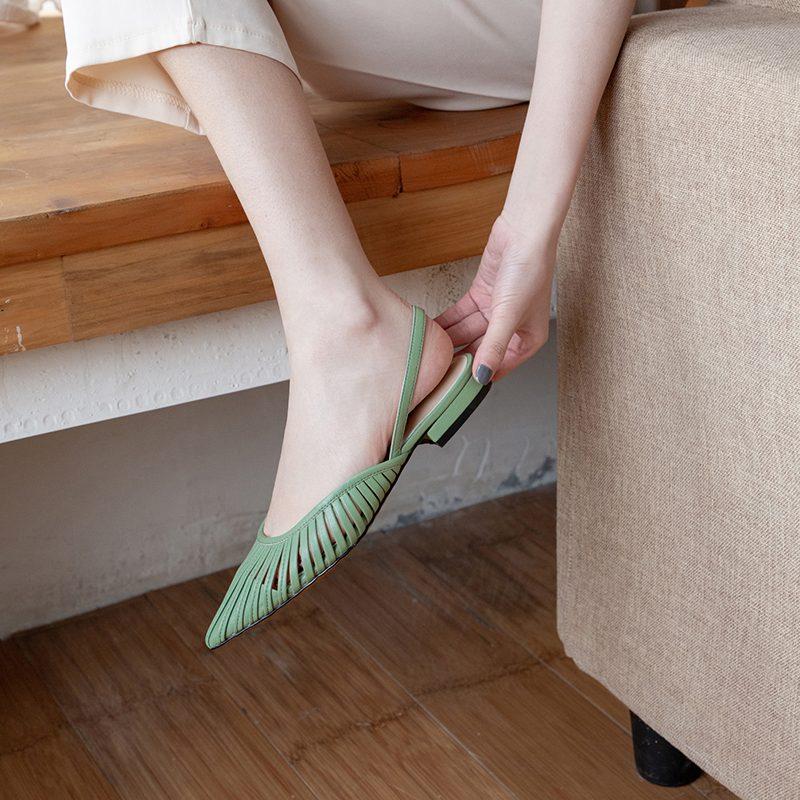 Chiko Kathryn Pointed Toe Block Heels Pumps