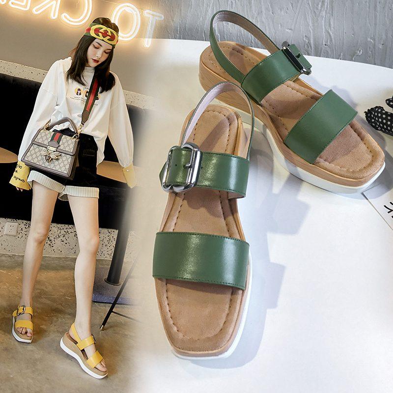 Chiko Kenda Open Toe Flatforms Sandals