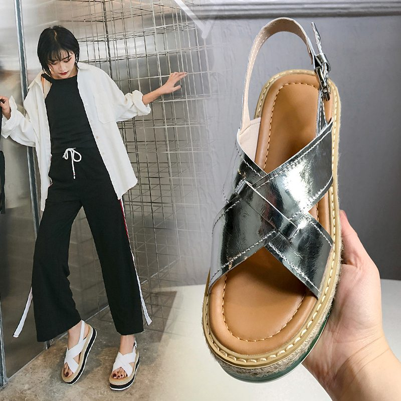 Chiko Kendall Open Toe Flatforms Sandals