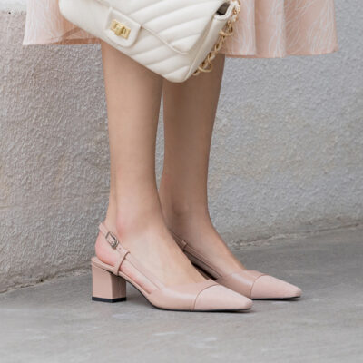 Chiko Kimberlyn Square Toe Block Heels Pumps