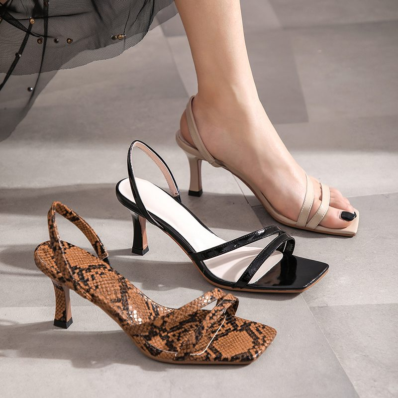 Chiko Kymberlee Open Toe Stiletto Sandals
