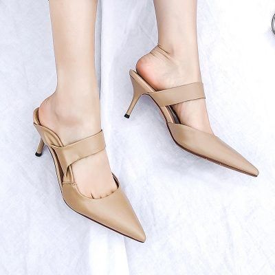 Chiko Leanore Pointed Toe Stiletto Clogs/Mules