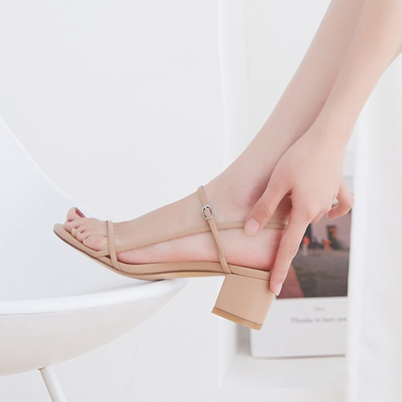 Chiko Lindsi Open Toe Block Heels Sandals