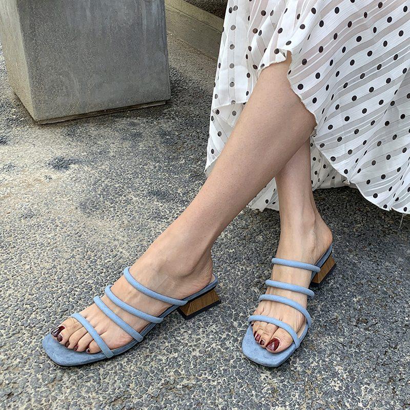 Chiko Liseth Open Toe Block Heels Sandals