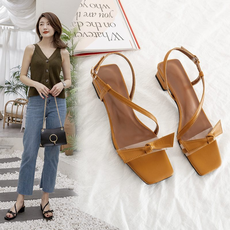 Chiko Liz Open Toe Block Heels Sandals