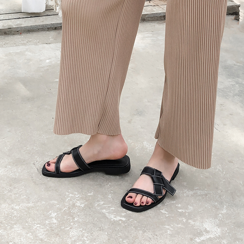 LIZABETH OPEN TOE BLOCK HEELS SANDALS