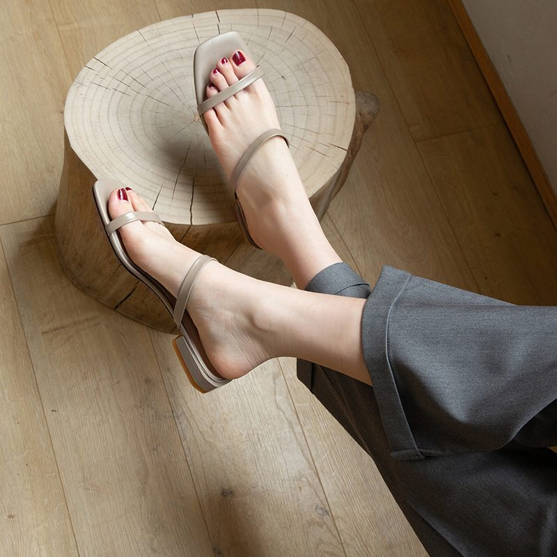 Chiko Lona Open Toe Block Heels Sandals