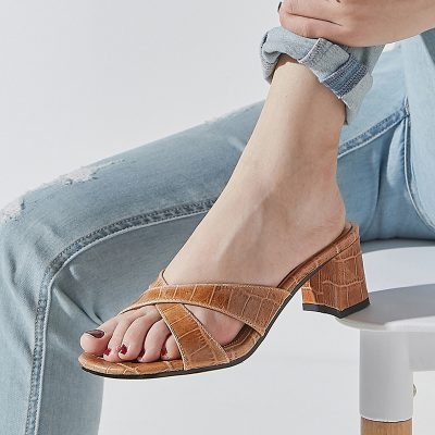 Chiko Loretta Open Toe Block Heels Sandals
