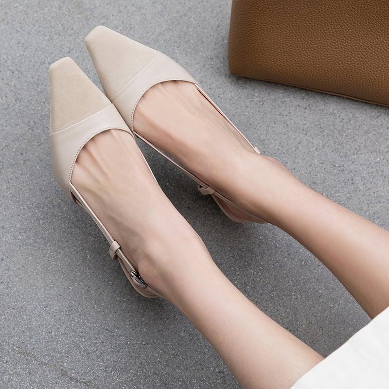 Chiko Kimberlyn Square Toe Block Heels Pumps