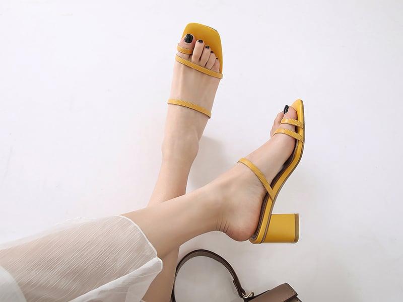 Summer sandals trends 2019 combined