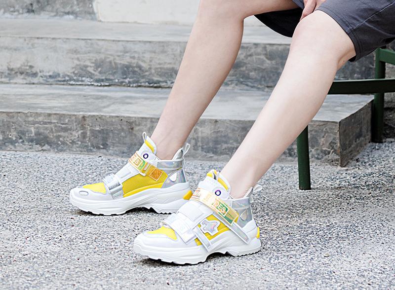 dad sneakers shoe trend