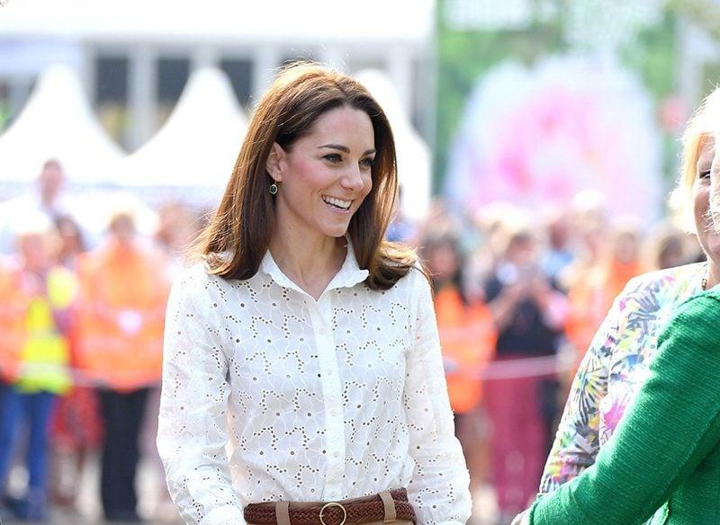 Kate Middleton white sneaker