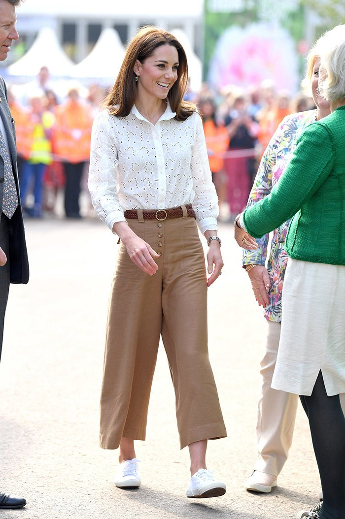 Kate Middleton white sneaker