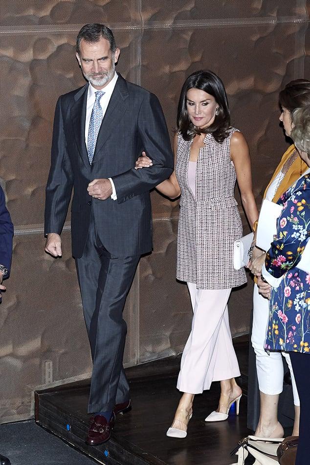 Spanish Queen Letizia plastic shoes