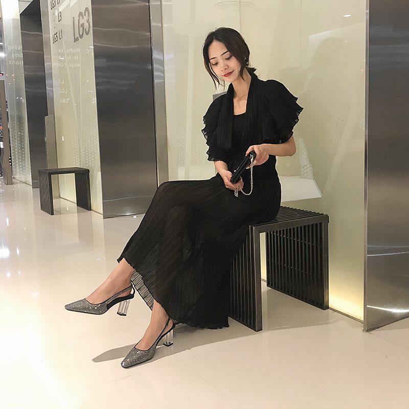 Chiko Lyzabeth Square Toe Block Heels Pumps