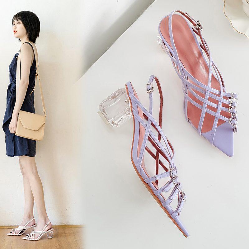 Chiko Mae Open Toe Block Heels Sandals